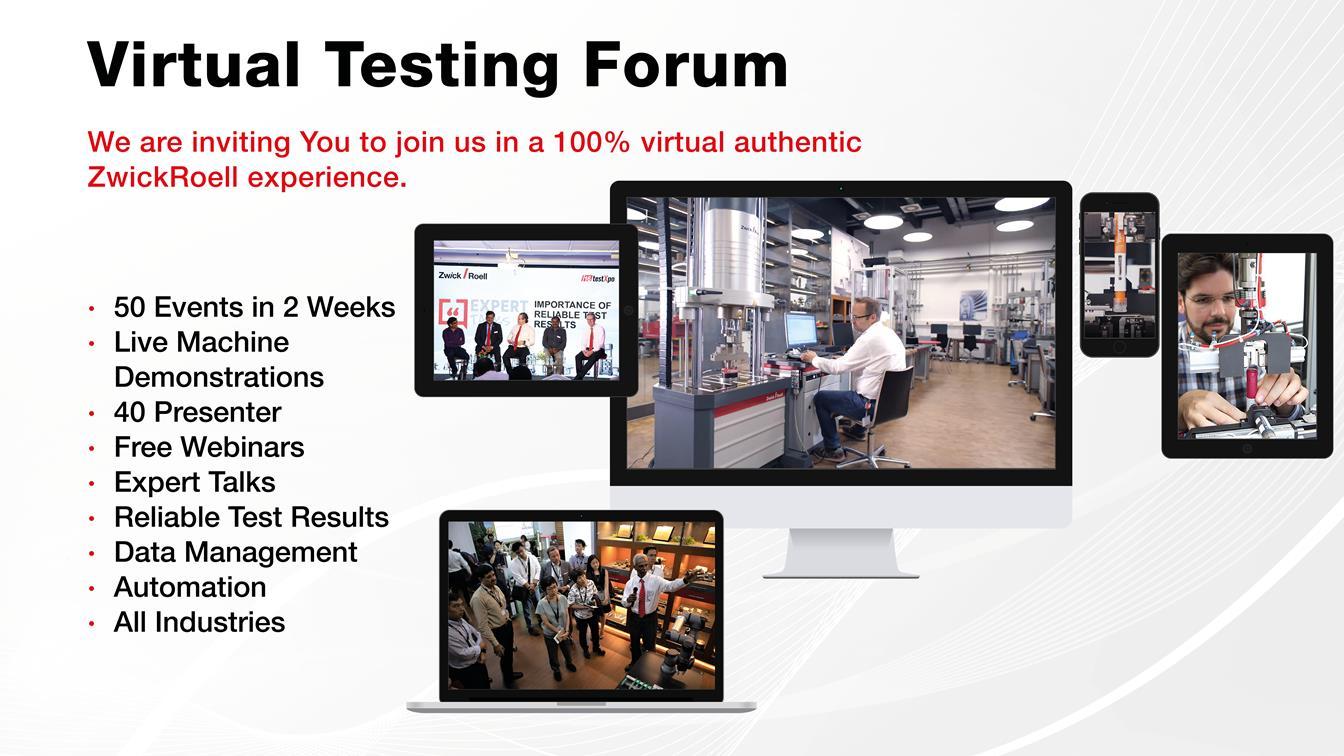 Virtual Testing Forum
