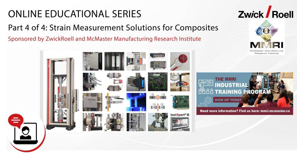 Soluciones para medición de deformación en materiales compuestos