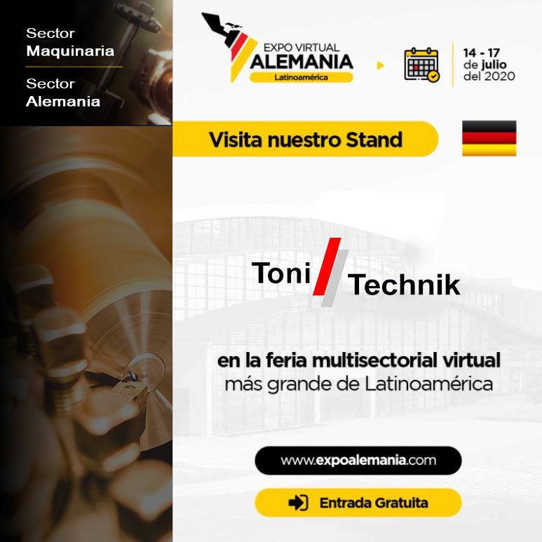 ToniTechnik - Stand Virtual en Expo Virtual ALEMANIA