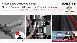 ONLINE EDUCATIONAL SERIES - Composites Industry