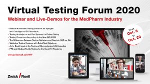 Virtual Testing Forum 2020 - Industria Farmacéutica