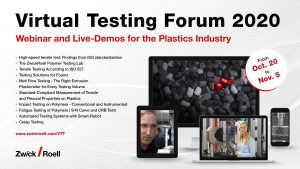 Virtual Testing Forum -  Industria Plástica